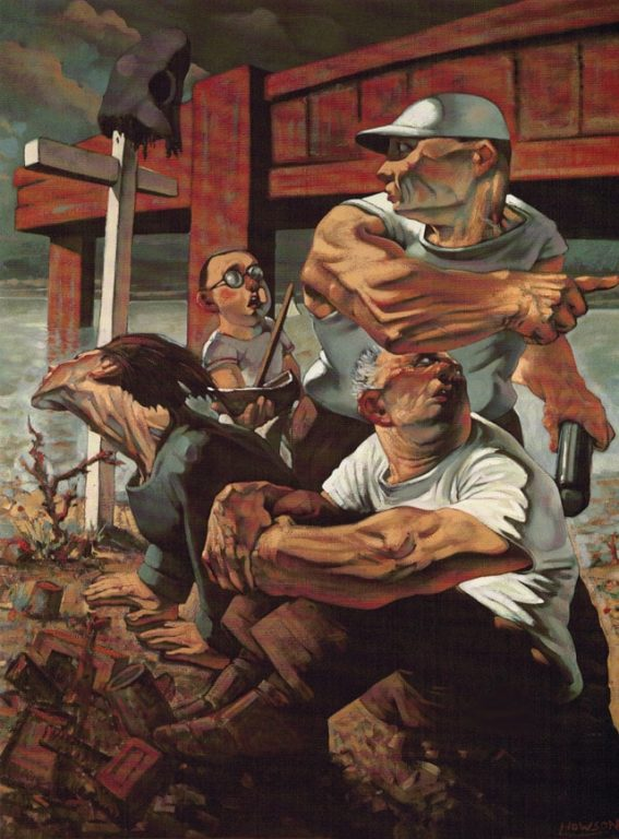 The Blind Leading The Blind Peter Howson