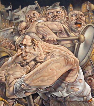 Haqiqah, 2015 (c) Peter Howson, Courtesy of Flowers Gallery London and New York_opt-6
