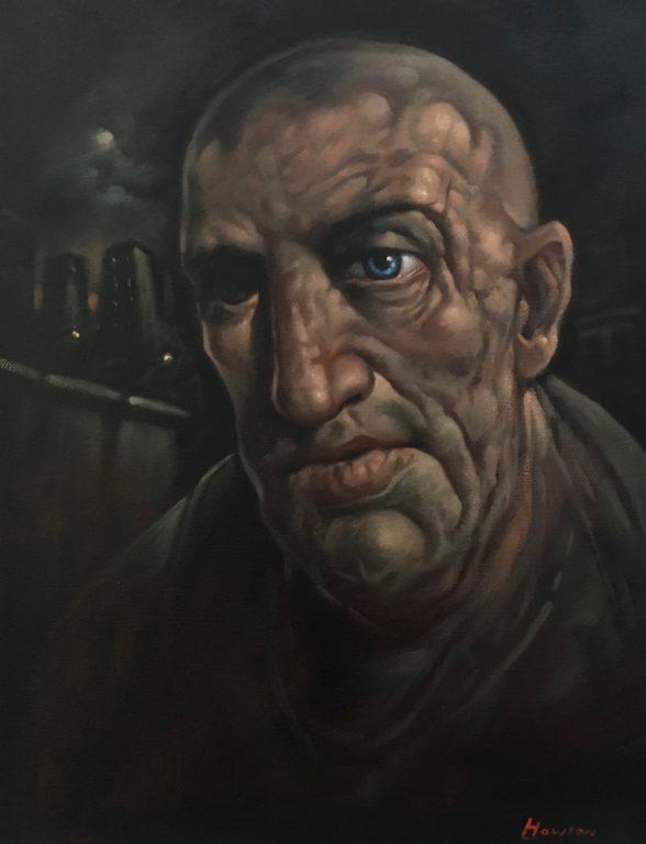 Griffin  2017  <br /> Oil on Canvas<br /> Fine Art Society: Edinburgh